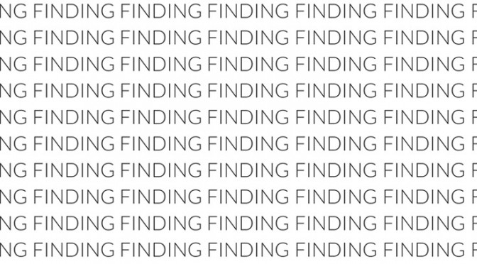 Finding Enough