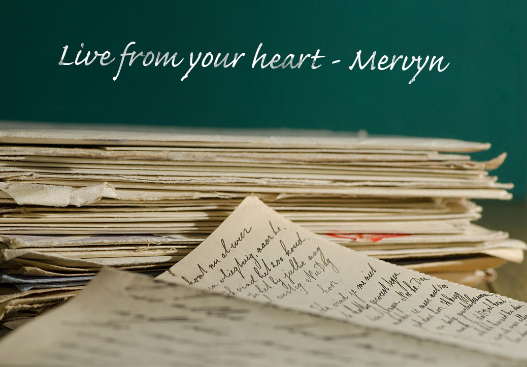 Live from your heart