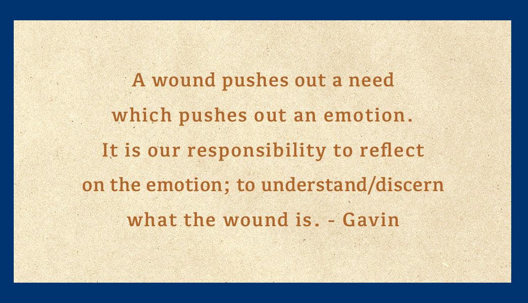 Understanding the wound